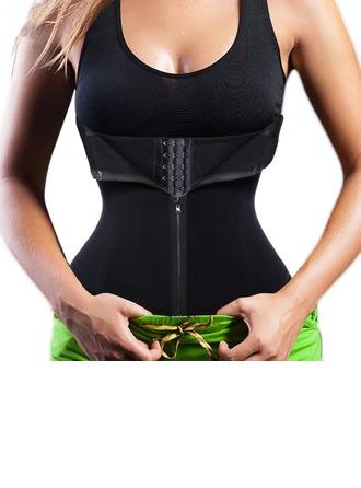 Kvinner Vrouwelijk/Toevallig Polyester Taille Cinchers Corrigerend Ondergoed