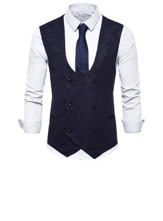 Modern Style lin Gilet Homme