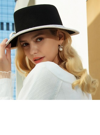Signore Stile classico/Elegante Lana Cappello floscio
