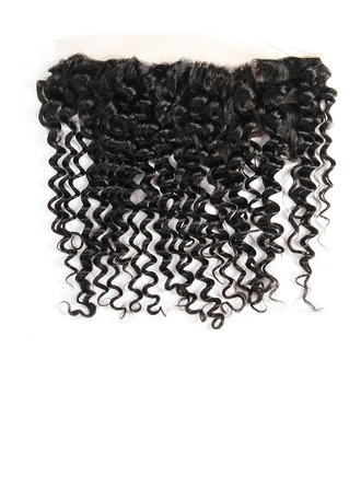 "13""*4"" 4A Non remy Deep Human Hair Closure (Sold in a single piece) 70g"