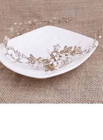 Glamourous Alloy/Imitation Pearls Headbands
