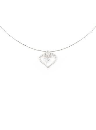 Silber Zirkonia Herz Herz Halskette Für Mutter / Mutter Für die Freundin