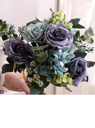 Elegant Free-Form Artificial Flower Decorations -