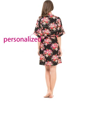 Personalized Polyester Feminine Robe (20 letters or less)