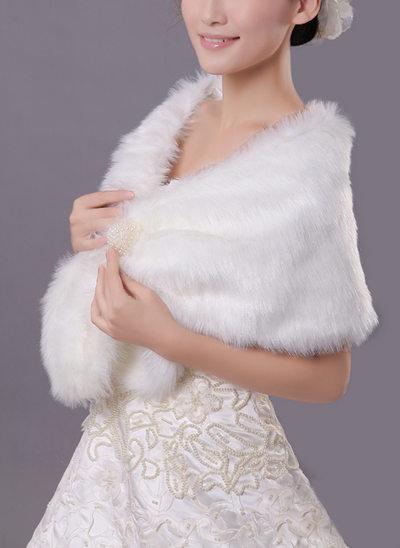 Faux Fur Acryl Mode Wrap