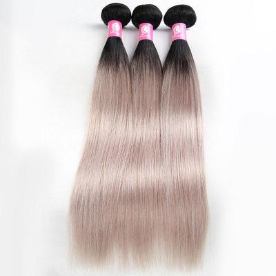 4A Remix Düz İnsan saçı İnsan Saç Örgüsü (Tek parça halinde satılır) 100 g
