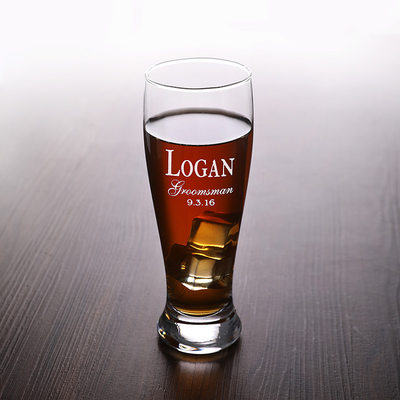 Groomsmen Presenter - Personlig Klassisk Stil Mode Glas Glas och Barware