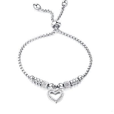 Link & Chain Bracciali damigella d'onore Braccialetti Bolo con Cuore - Regali Di San Valentino Per Lei