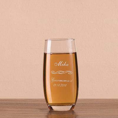 Prezenty Groomsmen - Spersonalizowane Nowoczesny Szkło Kufel do piwa