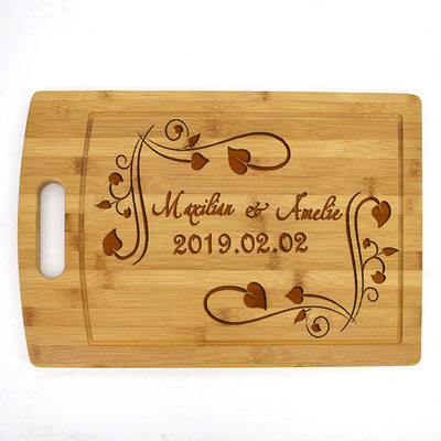 Groom Gifts - Personalized Classic Wooden Cutting Board