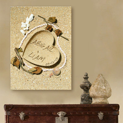 Groom Gifts - Personalized Classic Canvas Oil Painting