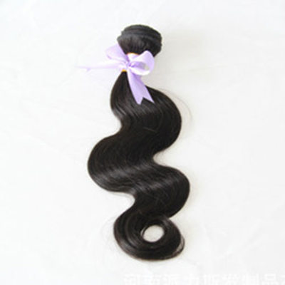 5A Virgin / remy Tělo Lidský vlas Lidské vlasy tkát (Prodáno v jediném kusu) 100g