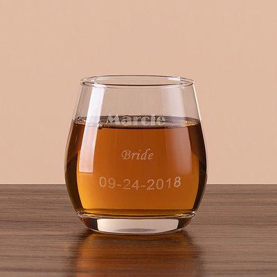 Presentes Da Noiva - Personalizado Clássico Vidro Copos e Barware