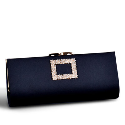 Elegant/Fashionable/Commuting bag Satin Clutches