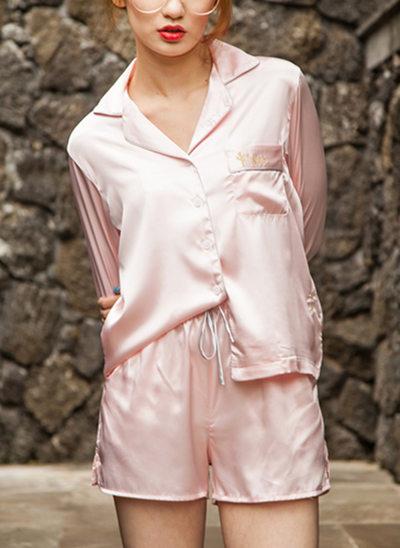 Brud Brudtärna polyester med Ankel-lång Satin & spetsrockar
