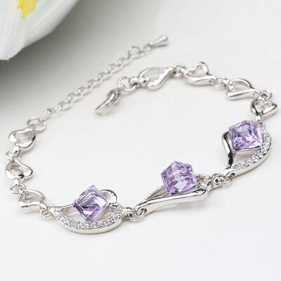 Ladies' Nice Alloy Rhinestone/Austrian Crystal Bracelets For Bridesmaid/For Friends