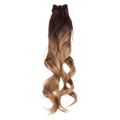 Loose Synthetic Hair Human Hair Weave (Sold in a single piece) 210g
