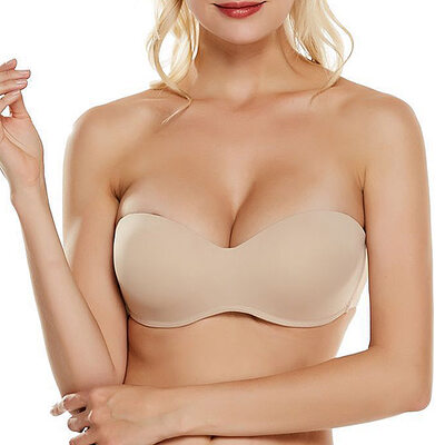 Simple Chinlon Nylon Demi Wireless Bras