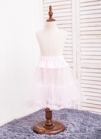 Girls Tulle Netting 2 Tiers Petticoats