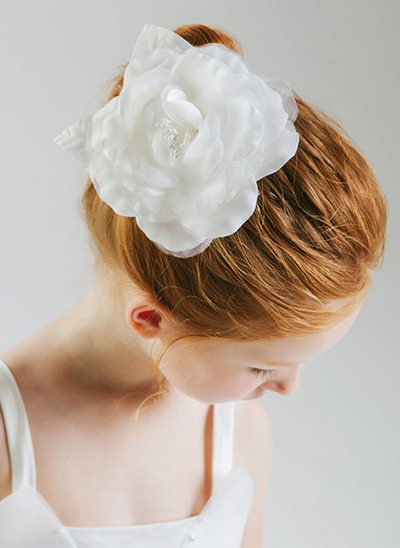 Polyester Fleur Bandeau