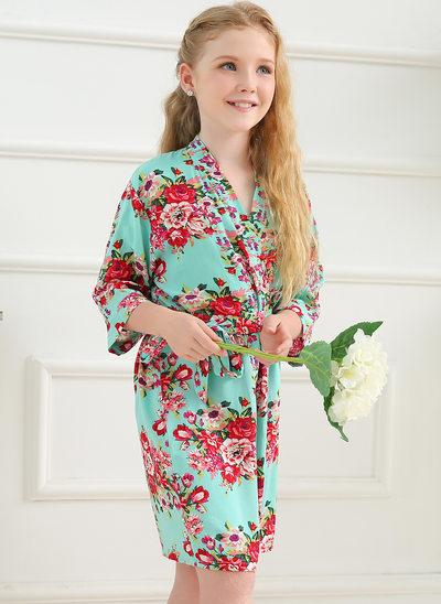 Flower Girl Floral Robes