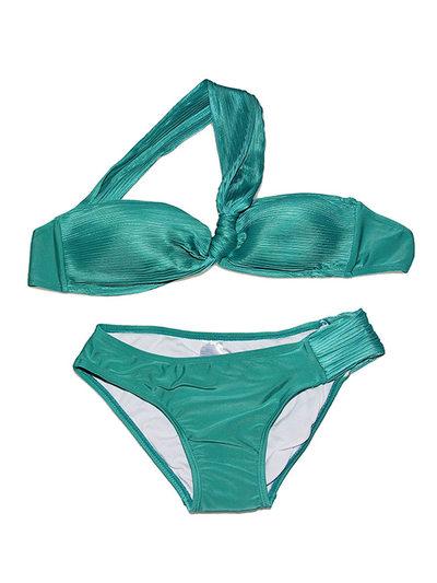 Muoti Solid Color Bikini