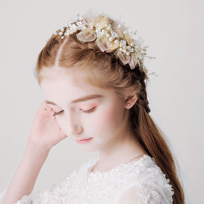 With Imitation Pearls/Rhinestones Headbands (Sold in a single piece)