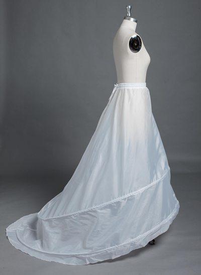 Naiset Polyesteri Kappelilaahus 1 Tasojen Alushameet