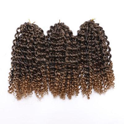 Frisé cheveux synthétiques Tresses (Vendu en une seule pièce) 80g