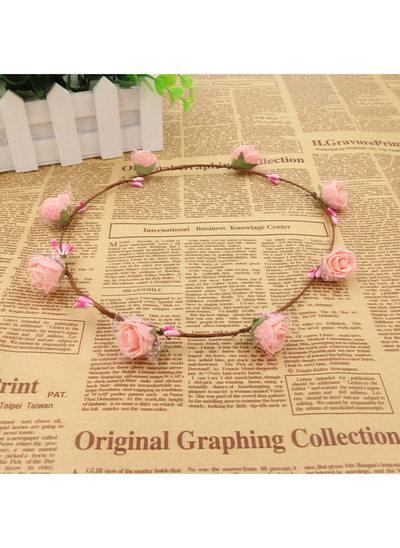 Schaum mit Blume Blumen-Stirnband
