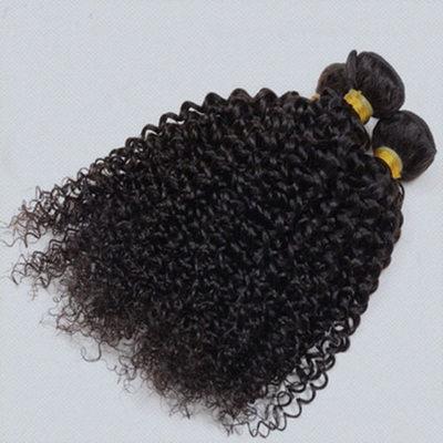 5A Jungfrau / Remy Lockig Menschliches Haar Geflecht aus Menschenhaar (Einzelstück verkauft) 100g