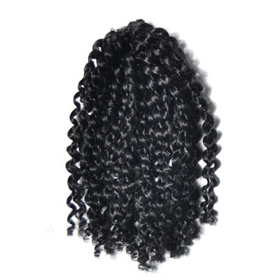 Afro Kinky Braids Pelo sintético Trenzas (Juego de 3) 60PCS 100g