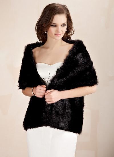 Faux Fur Speciale gelegenheden Sjaal