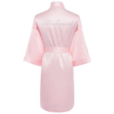 Brudepige Gaver - Elegant Charmeuse Robe