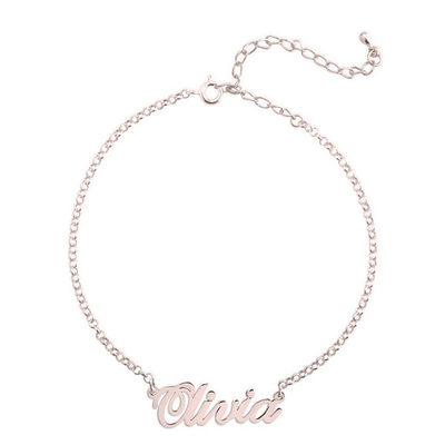Custom Link & Chain Name Bracelets - Valentines Gifts For Her