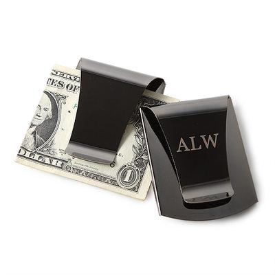 Presentes Padrinhos De Casamento - Personalizado Moderno Aço Inoxidável Clipe de Dinheiro