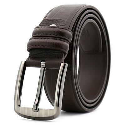 Klassiek koeienhuid Men's Belt