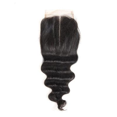 """4""""*4"""" 4A Nicht remy Lose Menschliches Haar Bedeckung (Einzelstück verkauft) 100g"""