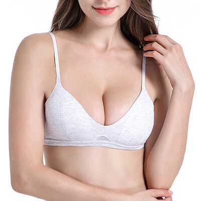 Simple Spandex Demi Bras