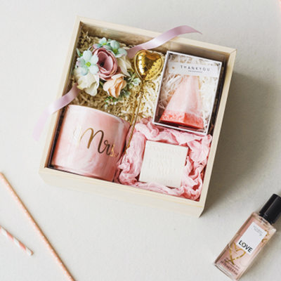 Bridesmaid Gifts - Delicate Keramik Gift Box/Bag