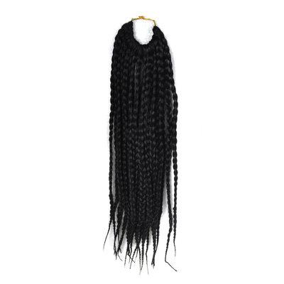Ahdas Lukot / Faux Locs Synteettiset hiukset punokset 22 kpl pakkausta kohti 80g