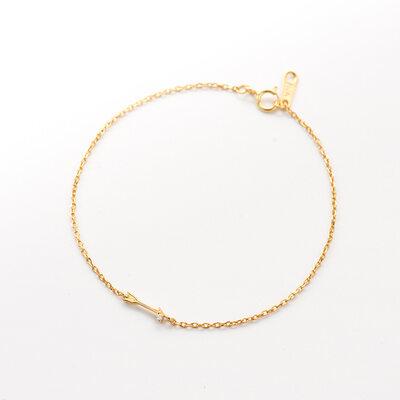 Banhado A Ouro 18k Cadeia Delicada Pulseiras de charme Pulseiras De Noiva Pulseiras De Dama De Honra com Zirconia cúbico -