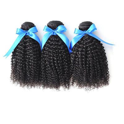 4A Kinky Curly Menschliches Haar Geflecht aus Menschenhaar (Einzelstück verkauft)