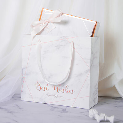 Regalos De La Dama De Honor - Simple Papel para tarjetas Caja de regalo / bolsa
