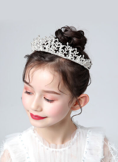 Flower Girl Alloy/Crystal/Rhinestones Tiaras