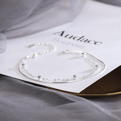 Antioxidační Jemný řetěz Řetězové náramky -