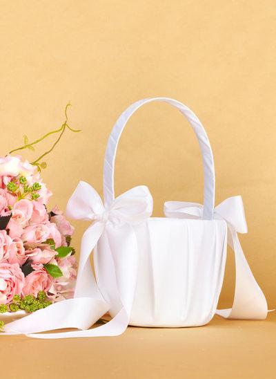 Satiini jossa Keula Flower Basket