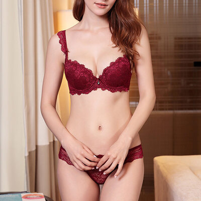 Sweet Chinlon Nylon Full Coverage Bra Sets