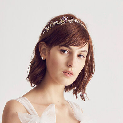 Ladies Beautiful Rhinestone/Alloy Headbands With Rhinestone