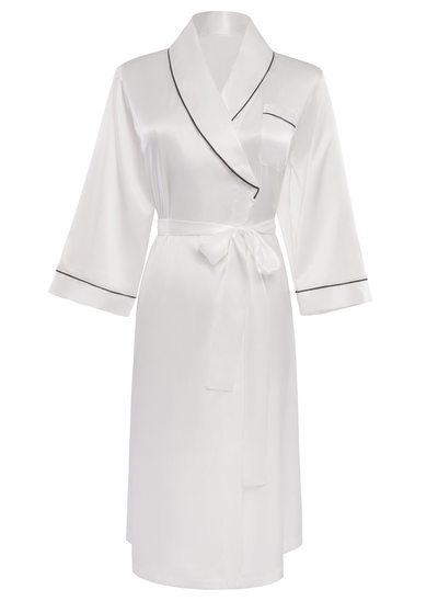 Novia La dama de honor Seda con Hasta la rodilla Túnicas de kimono